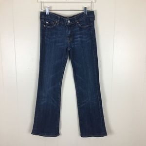 7 For All Mankind Women's  Boot Cut Jeans Size 28